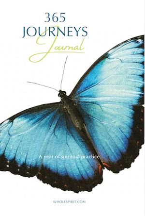 365 Journeys Journal Cover Photo. The 365 Journey Journal is a companion book to record your journeys and experiences when using Mara's book